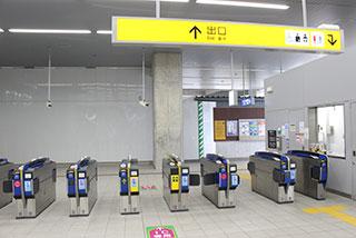 鳴尾駅から院までの道のり1
