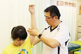 肩こり・四十肩・五十肩治療の写真